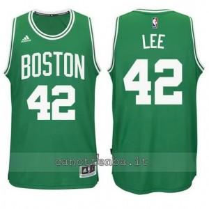 Canotta david lee #42 boston celtics verde