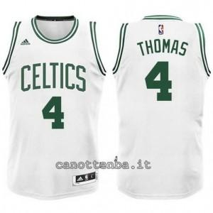 Canotta isiah thomas #4 boston celtics bianca
