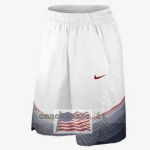 pantaloncini nba fiba usa 2014 bianca