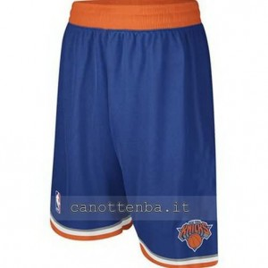 pantaloncini nba new york knicks blu