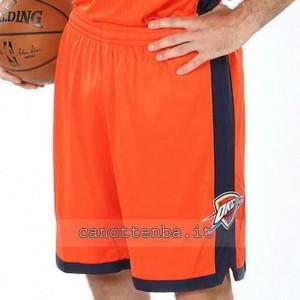 pantaloncini nba oklahoma city thunder arancia