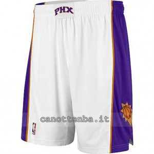 pantaloncini nba phoenix suns bianca