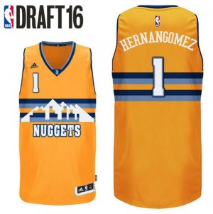 cannotta juan hernangomez 1 denver nuggets draft 2016 giallo