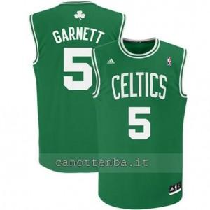 canotta #5 kevin garnett boston celtics revolution 30 verde