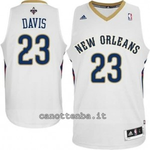 canotta anthony davis #23 new orleans pelicans 2014-2015 bianca