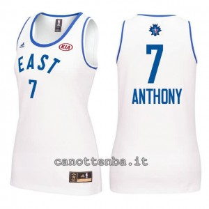 canotta nba donna all star 2016 carmelo anthony #7 bianca