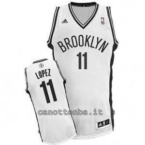 canotta brook lopez #11 brooklyn nets revolution 30 bianca