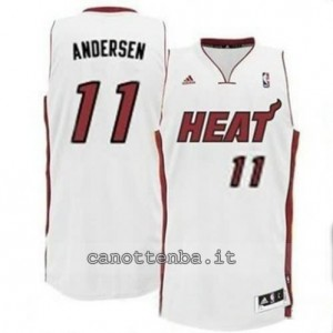 canotta chris andersen #11 miami heat revolution 30 bianca
