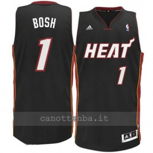 canotta chris bosh #1 miami heat revolution 30 nero