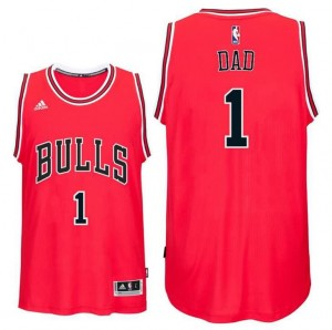 canotta dad logo 1 chicago bulls 2016 rosso