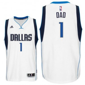 canotta dad logo 2 dallas mavericks 2015-2016 bianca