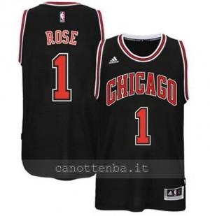 canotta derrick rose #1 chicago bulls 2014-2015 nero