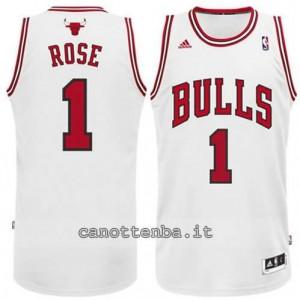 canotta derrick rose #1 chicago bulls revolution 30 bianca