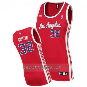 canotta donna blake griffin #32 los angeles clippers rosso