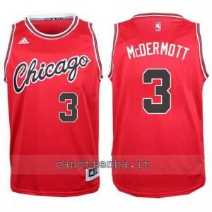 canotta doug mcdermott #3 chicago bulls 2015-2016 rosso