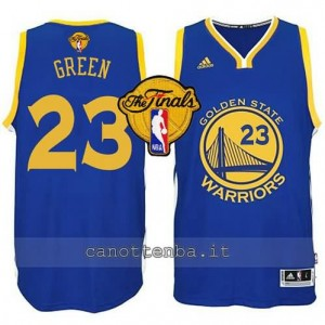 canotta draymond green #23 golden state warriors finale 2015 blu