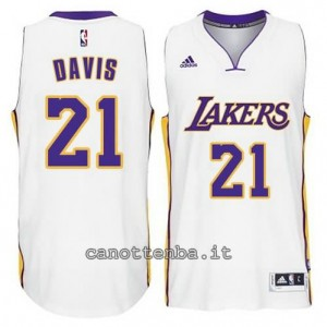 canotta ed davis #21 los angeles lakers 2014-2015 bianca