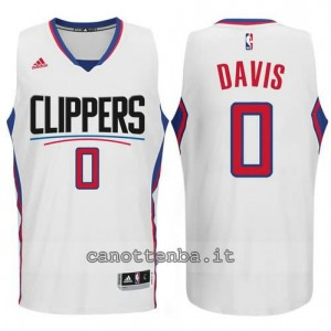canotta glen davis #0 los angeles clippers 2015-2016 bianca