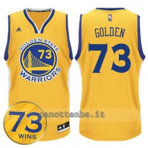canotta golden state warriors 73 wins 2016 giallo