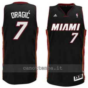 canotta goran dragic #7 miami heat revolution 30 nero