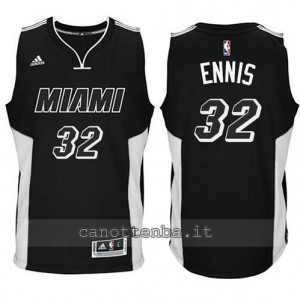 canotta james ennis #32 miami heat 2014-2015 nero