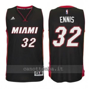 canotta james ennis #32 miami heat revolution 30 nero
