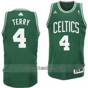 canotta jason terry #4 boston celtics retro verde