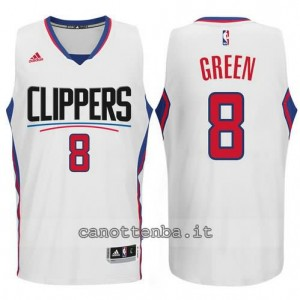 canotta jeff green #8 los angeles clippers 2015-2016 bianca