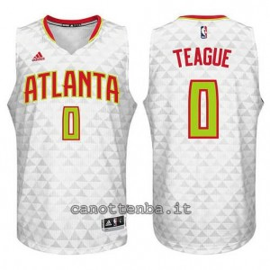 canotta jeff teague #0 atlanta hawks 2015-2016 bianca
