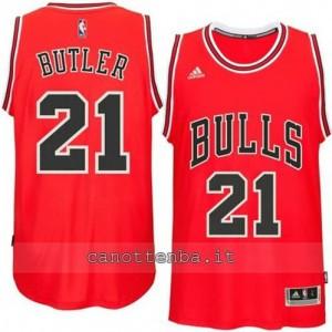 canotta jimmy butler #21 chicago bulls 2014-2015 rosso