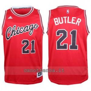 canotta jimmy butler #21 chicago bulls 2015-2016 rosso