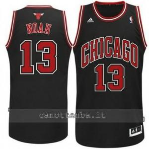canotta joakim noah #13 chicago bulls revolution 30 nero
