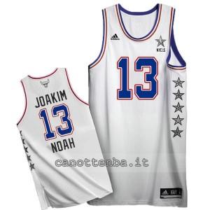 canotta joakim noah #13 nba all star 2015 bianca