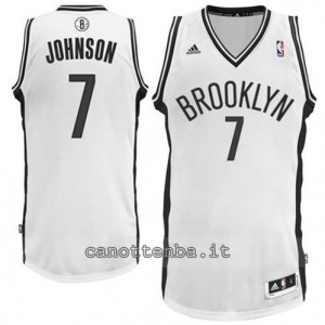 canotta joe johnson #7 brooklyn nets revolution 30 bianca