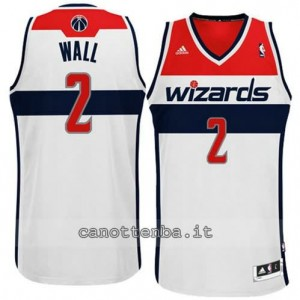 canotta john wall #2 washington wizards revolution 30 bianca