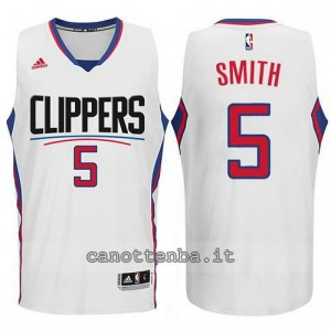 canotta josh smith #5 los angeles clippers 2015-2016 bianca