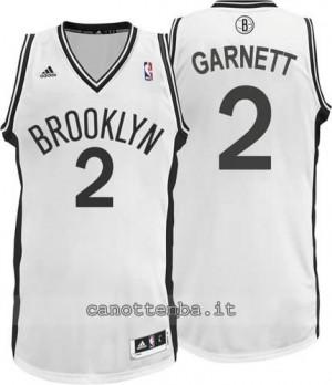 canotta kevin garnett #2 brooklyn nets revolution 30 bianca