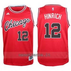 canotta kirk hinrich #12 chicago bulls 2015-2016 rosso