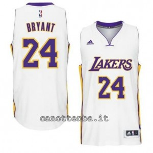 canotta kobe bryant #24 los angeles lakers 2014-2015 bianca