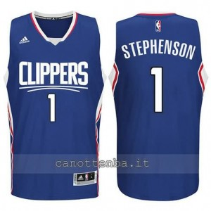 canotta lance stephenson #1 los angeles clippers 2015-2016 blu