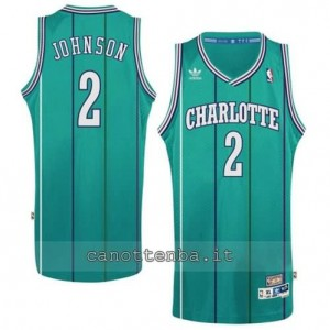 canotta larry johnson #2 charlotte hornets retro