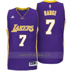 canotta larry nance #7 los angeles lakers 2014-2015 porpora