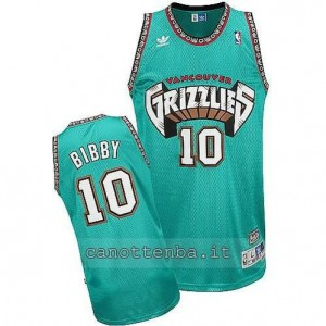 canotta mike bibby #10 vancouver grizzlies blu