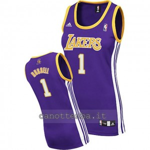 canotta basket donna los angeles lakers d'angelo russell #1 blu