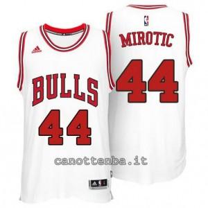 canotta nikola mirotic #44 chicago bulls 2014-2015 bianca