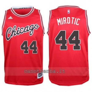 canotta nikola mirotic #44 chicago bulls 2015-2016 rosso