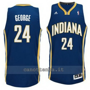 canotta paul george #24 indiana pacers revolution 30 blu