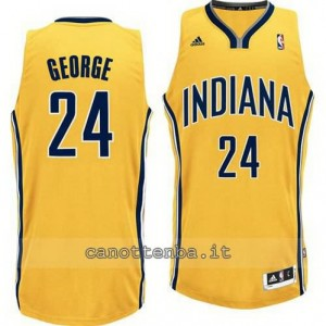 canotta paul george #24 indiana pacers revolution 30 giallo