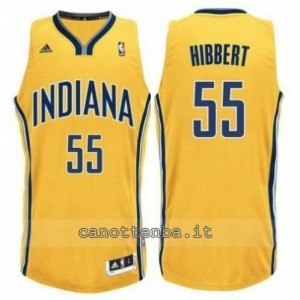 canotta roy hibbert #55 indiana pacers revolution 30 giallo