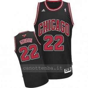 canotta taj gibson #22 chicago bulls revolution 30 nero